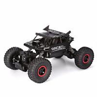 carros escalada brinquedos venda por atacado-1/18 4WD 2.4 GHz Rock Crawlers Rally Escalada Carro Bigfoot Carro Modelo de Controle Remoto Off-Road Veículo brinquedo