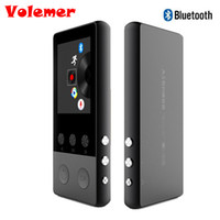 Wholesale pedometer radio - Volemer 1.8 inch TFT Screen Bluetooth HIFI MP3 Music Player Sport Walkman with Voice Recorder Pedometer Video  FM Radio
