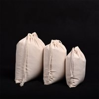 Wholesale flax clothing online - Flax Bundle Pocket Soft Clothes Dustproof Storage Jewellery Bags Drawstring Bag Fashion Solid Color Gift Packaging Bag ss7 UU