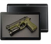 çift sim tabletler 4gb ram toptan satış-Fabrika Satış 10 inç google Tablet PC Android 7.0 Octa Çekirdek 4 GB RAM 64 GB ROM 1280x800 Çift Sim GPS Telefon 3G Tabletler IPS 10.1