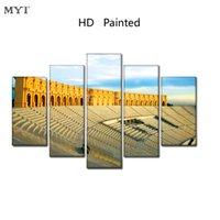 ingrosso tela di canvas di immagini di qualità-MYT New HD Poster stampati Stampa astratta Picture Canvas Painting No Frames Paesaggio Wall Art Dipinti di alta qualità