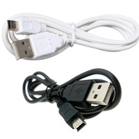 Wholesale cell phone usb mp4 camera resale online - White Black m V3 pin P Mini USB to USB Cable Data Sync Charge Cable for MP3 MP4 GPS Camera Mobile Cell Phone DHL FEDEX EMS FREE SHIP
