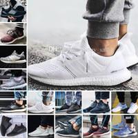 sapatos para cães venda por atacado-New Ultra Boost 2.0 3.0 4.0 UltraBoost homens running shoes sneakers mulheres designer esporte UB cão CNY Snowflake Core triplo preto todo branco cinza
