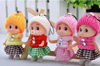new ship toy großhandel-Neue Kinder spielt Puppen-weiche wechselwirkende Baby-Puppen-Spielzeug-Minipuppe für Mädchen gutes preiswertes Geschenk freies Verschiffen