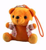 escondeu chaveiro venda por atacado-Escondido Urso De Pelúcia Dos Desenhos Animados Brinquedo GPS / GSM / GPRS Rastreador Pessoal-IDL100 crianças brinquedo de pelúcia chaveiro GPS Tracker