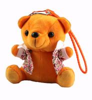 llavero escondido al por mayor-Perseguidor personal oculto de la historieta del oso del juguete GPS / GSM / GPRS - IDL100 los niños de peluche de juguete llavero rastreador GPS