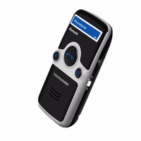 Wholesale solar bluetooth car kits for sale - Group buy Solar Bluetooth FM Stereo Transmitter Eight Languages Display Bluetooth hands free In Car Bluetooth Bluetooth car kit