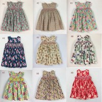 Wholesale girls new years dress - Hot Sale Children Dresses 2018 New Summer Lovely Baby Girls Dresses Casual Party Dresses Bohemian Princess For 3-7 Years Kids Dress