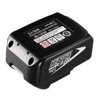 ersatz-batterien groihandel-Freeshipping BL1830 3000mAh wieder aufladbarer Lithium-Ionen-Elektrowerkzeug-Batterie-Ersatz für Makita 18V BL1830BSL1830 BSL1840 BSL1815X BTD140 neu