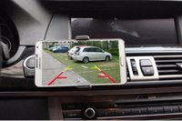 wireless reversing camera monitor 2018 - New HD wireless WiFi reversing camera with intelligent video phone display vehicle rear view video monitoring car