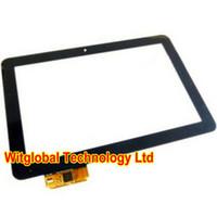 tela final venda por atacado-Novo Prestigio MultiPad 10.1 Ultimate 3G PMP7100D3G_Quad Tablet Touch Screen Digitador Sensor De Vidro Substituição Frete Grátis