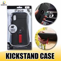étuis iphone plus iface achat en gros de-Coque iFace pour iPhone XS MAX XR X 8 ultra mince en TPU pour Samsung S10e S10 Plus A2 CORE A60
