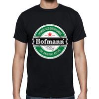 Wholesale Unique Mens Shorts - Unique Adults Hofmann LSD Beer Label T Shirt Short Sleeve Stretchy Organic Cotton Print Mens Tee Summer Oversized Casual T-shirt