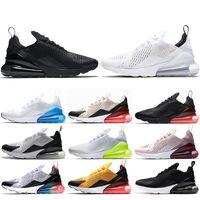 stoß silber großhandel-Nike air max 270 Laufschuhe triple schwarz weiß Hot Punsch TEE BERRY werden True Teal Herren Trainer Frauen Sport Sneaker Größe 5.5-11