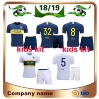 530a0657079a8 2019 kit para niños Camiseta de fútbol Boca Juniors 18 19 Boca Juniors  Local GAGO OSVALDO Camisetas de fútbol Away CARLITOS PEREZ P niño niño  Uniforme de ...