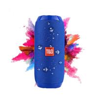 horn bluetooth großhandel-TG117 Bluetooth Lautsprecher Tragbare Doppelhorn Mini Outdoor Tragbare Wasserdichte Subwoofer Drahtlose Lautsprecher für iphone, xiaomi