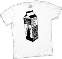 leite de leite venda por atacado-Como eu conheci seu t-shirt do branco da Legen-Leiteria da caixa do leite da mãe