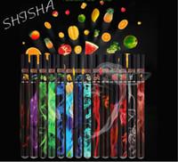 nargile kalemleri ücretsiz gönderim toptan satış-Meyve Lezzet 500 Ponponları Tek Vape kalemler Buhar Nargile Sopa Kalem Elektronik Sigara 4N6 DHL ücretsiz kargo