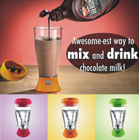 Wholesale Coffee Blender - 400ml Electric Automation Protein Shaker Blender Water Bottle Automatic Coffee Milk Mixer Smart Cup Detachable Smart Mixer Cup CCA8982 60pcs