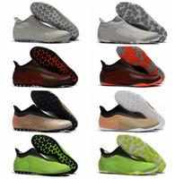 football de futsal achat en gros de-2018 chaussures de soccer originales pour hommes en gazon X Tango 17 chaussures de football en salle Purespeed TF IC à crampons pour chaussures de football nouvelles chaussures de football prédateur futsal