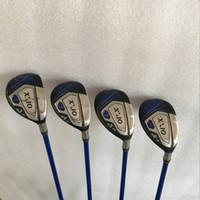 Wholesale golf clubs rescue - Golf Clubs XXIO MP1000 Hybrids 18.20.23.26 Graphite shaft 4PCS XXIO Golf Rescues Right hand