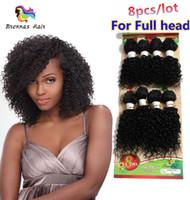 kinky kıvırcık insan saçları satılık toptan satış-Sıcak Satış İnsan saç uzantıları Perulu gevşek dalga derin kıvırcık saç Brezilyalı insan dalga 8 yığınları kinky kıvırcık karışımlı atkı saç