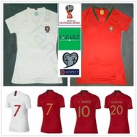 64d5fec2b 2018 World Cup Women Soccer Jersey 9 EDER 20 QUARESMA J.MOUTINHO J.MARIO  Custom Woman Men Kids Youth Football Shirt