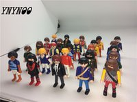Wholesale Germany Toys - (Ynynoo )7pcs 7 Cm Playmobil Germany Original Action Figures Western Farm Fun Park 2016 Playmob Game Child Toy Collections Kid