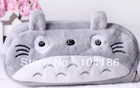 Wholesale totoro cosmetic bag - Wholesale- 6PCS Japan Totoro BAG Pouch Case ;Pendant Cosmetics Storage Coin Purse Wallet Bag Case
