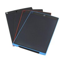 Wholesale Drawing Tablet Toys - 12 8.5 Inch Drawing Toys LCD Writing Pad Board Paperless Electronic Writing Tablet Drawing Office School Children Gifts Retail Box DHL