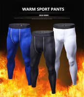 Wholesale gym clothing for men for sale - Group buy Wool Sport Pants For Men Quick Dry Men s Running Pant Winter Warm Jogging Long Compression Pant Gym Fitness Clothing Training Sport Trouser