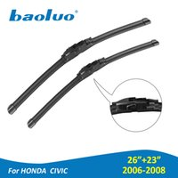 Wholesale honda car parts for sale - 1 Pair Windshield Wiper Blades For Honda Civic quot quot Rubber Windscreen Wipers Auto Parts Car Accessories