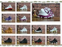 Wholesale kids hunting boots - New Colorway Boys Girls Basketball Shoes 13 Kids Gym Red DMP History of Flight Altitude Green Sports Shoes 23 Metallic Gold White sneakers