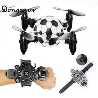 Wholesale quadcopter kit unassembled resale online - Dongzhur RC Drone Mini Folding Drone For Football Folding Remote Control RC Quadcopter Micro Mini Aerocraft YKF4268