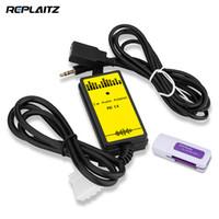 interface de lecteur mp3 achat en gros de-Adaptateur de voiture Auto Audio Lecteur MP3 USB AUX 3.5mm Câble d'interface MP3 / WMA Décodeur Audio de véhicule Changeur de CD virtuel pour Mazda 3 6