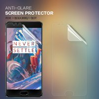 Wholesale Nillkin Screen Protector Wholesale - 2 pcs lot Screen Protector For Oneplus 3 3T A3000 NILLKIN Matte Film Scratch-resistant Frosted Protective Film For One plus 3 3T