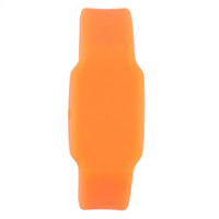 Wholesale disk watch for sale - LED Trendy Flash Memory Wrists Band Bracelet Watches U Disk GB Orange relogio