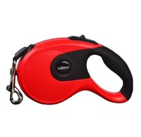 Wholesale solid color nylon dog collars for sale - Group buy Automatic Retractable Dog Leash Cat Easy Gripping M M Pulling Dog Lead Leash for Small Medium Pet Dogs Nylon Dog Leash Color