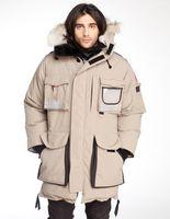 Wholesale men s arctic parka for sale - Group buy 2018 New Hot Sale Big Fur Men s Snow Mantra Down Parka Winter Jacket Arctic Parka Top Copy Brand Luxury For Sale CHeap With Price