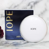 luftkissen bb creme großhandel-Korea Marke IOPE Air Cushion + Ersetzen Kissen XP BB Foundation Cream 15g feuchtigkeitsspendende Concealer N21 N23