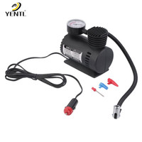 Wholesale 12v auto electric car for sale - Group buy Air Compressor V Tire Inflator Toy Sports Car Auto Electric Pump Mini New12V PSI Car Bike Tyre Inflator Electric Portable
