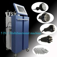 Wholesale multifunction cavitation machine resale online - Multifunction Lipo Laser Cavitation Machine With Vacuum RF BIO For Body Slimming Face Lifting Fat Removal CE Approved