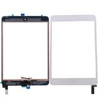 tp mini al por mayor-Nuevo digitizador original de la pantalla táctil para el iPad mini 4 con el reemplazo del panel de cristal delantero del botón TP + IC del botón casero