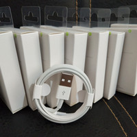 x mini ambalaj toptan satış-Yeni ambalaj kutusu ile Yeşil etiket Orijinal Kalite USB Şarj Kablosu 1 M 3Ft Sync Veri Kablosu Telefon i5 6 7 8 x samsung mikro s4 s6 s7