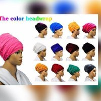 Wholesale Gele Head - 10 packs 20 pieces African sego headtie head tie gele soft Velvet Headscarf Headgele with lots of beads headwrap