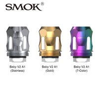 Wholesale SMOK TFV8 Baby Version Coil for TFV8 Baby Version Tank Atomizer High Quality E cig Cores pack Original