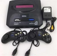 nes juego tarjeta al por mayor-Sega Genesis / MD compact 2 en 1 consola de juegos de sistema dual / catridge rom compatible con la tarjeta de juego original