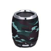 Wholesale wireless speaker sound online - Portable Wireless BT Bluetooth Speaker Stereo Sound Box Music Player BT4 with Microphone FM Radio Equipped with TF Card