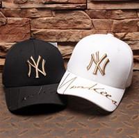 flat hats for men بالجملة-2018 أزياء ماركة القبعات qualtiy عالية قبعات البيسبول للرجال النساء العلامة التجارية كاب الرياضة الهيب هوب شقة أحد قبعة عظام gorras رخيصة 3 اللون اختار A-61