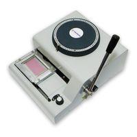 pvc yazıcılar toptan satış-Pvc kart üzerinde kabartma numarası makine için PVC kod yazıcısı